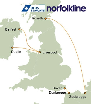 Norfolkline ferries norfolkline ferry ticket reservations informationn - Where is zeebrugge ferry port ...